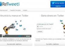 ReTweeti twitter ganar dinero