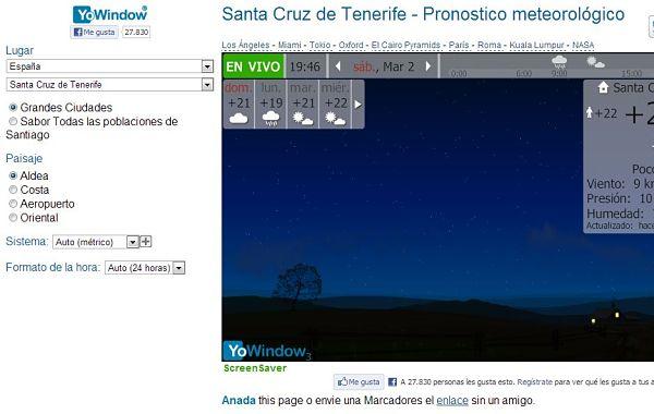 YoWindow prevision meteorologica