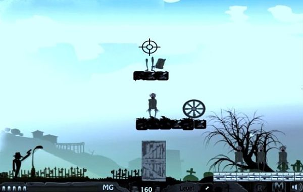 Zombie Shooter juego chrome