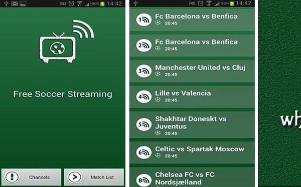 futbol gratis online android