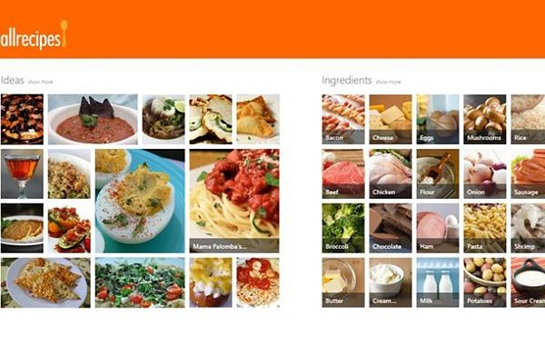Allrecipes recetas