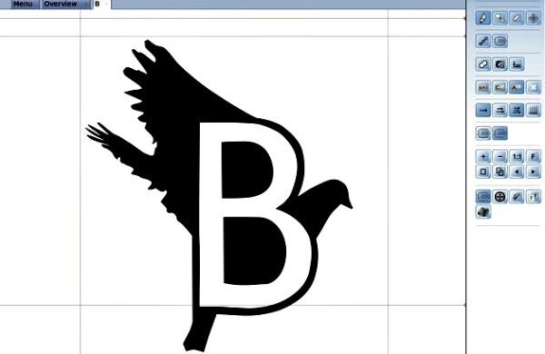 Birdfont fuentes texto