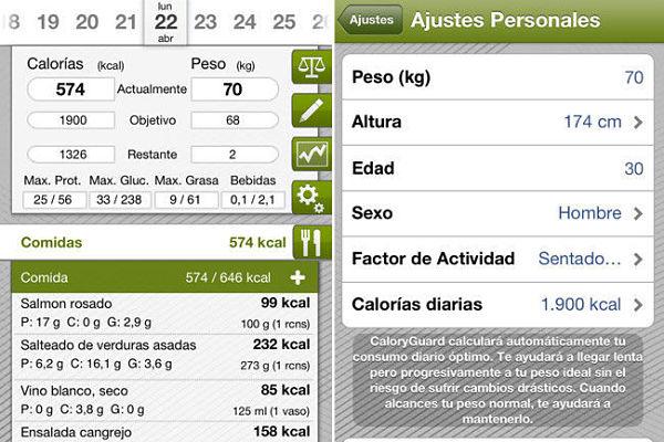 Caloryguard Pro calorias dieta