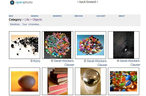 OpenPhoto fotografias libres