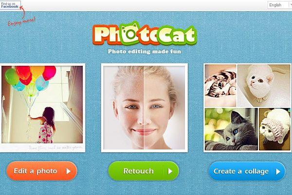 PhotoCat editor imagenes