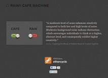 Rainy Cafe ruido ambiental
