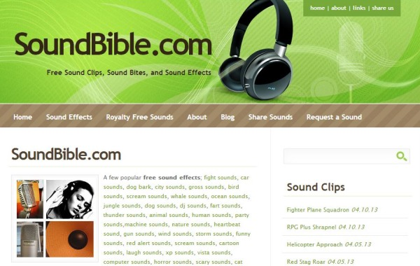 SoundBible sonidos efectos
