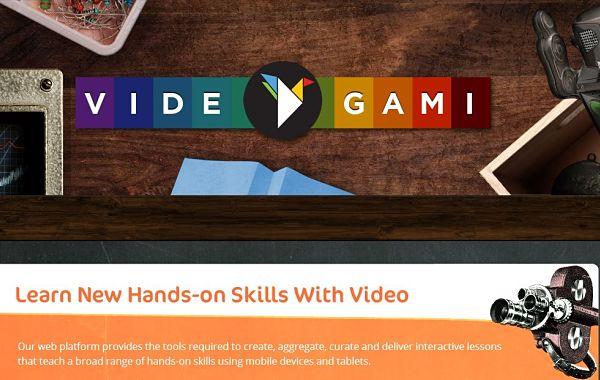 Videogami origami video