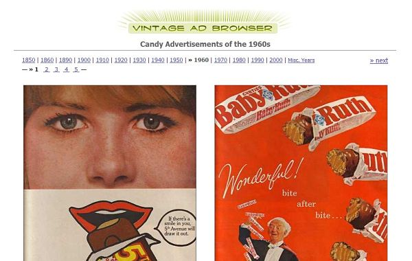 Vintage Ad Browser anuncios publicidad