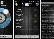 alarma despertador android walk me up
