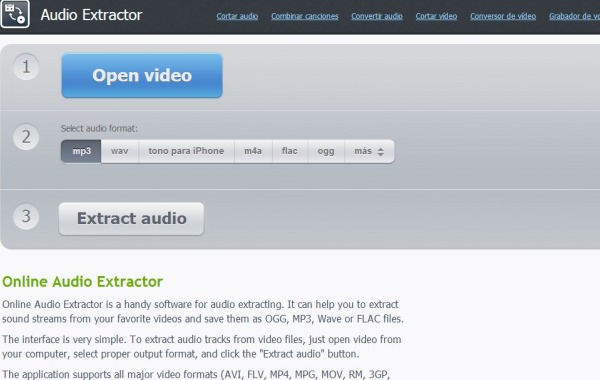 Audio Extractor extraer audio video
