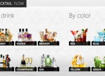 Cocktail Flow cocteles