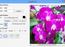 EasyPic redimensionar fotos