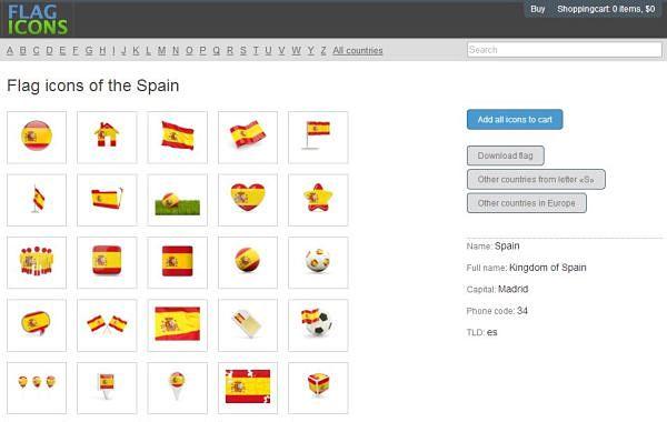 Flag Icons iconos banderas paises