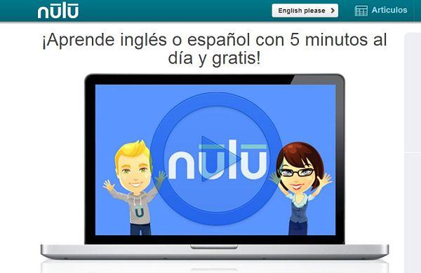 Nulu aprender ingles gratis