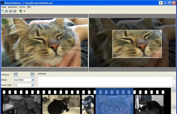 PhotoFilmStrip crear videos fotografias