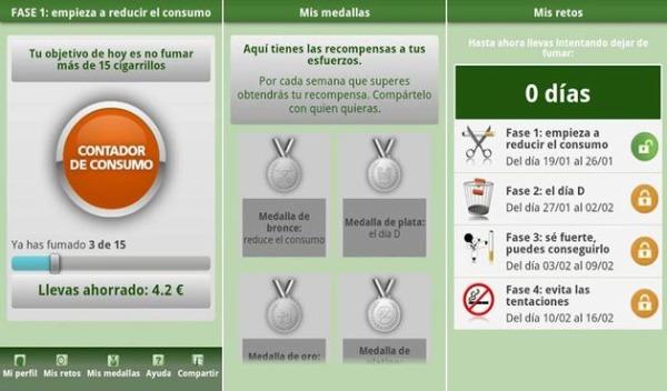 Respirapp dejar fumar
