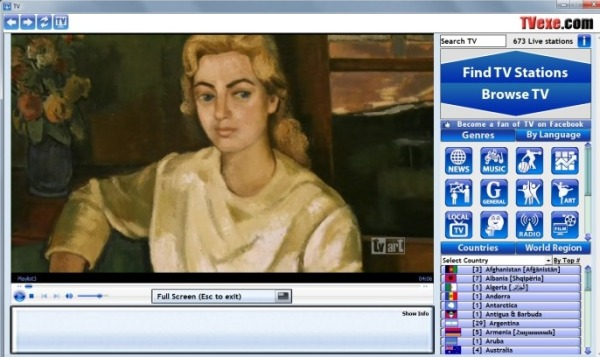 TVexe television online