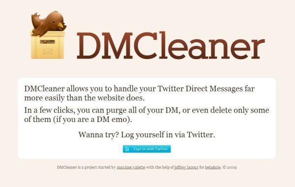 DMCleaner twitter