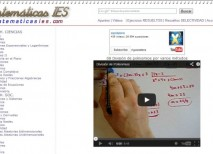 Matematicas IES videos apuntes ejercicios
