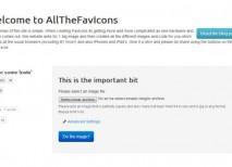 AllTheFavIcons crear favicon