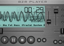 BZR Player reproductor audio Windows