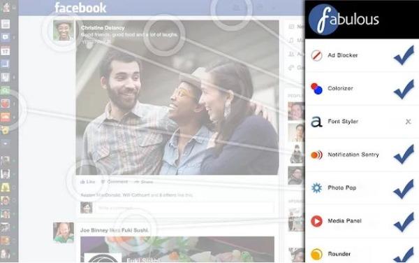 Fabulous personalizar Facebook