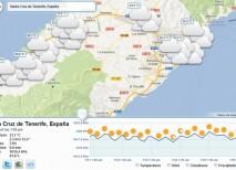 Isitsunshine tiempo prevision meteorologica