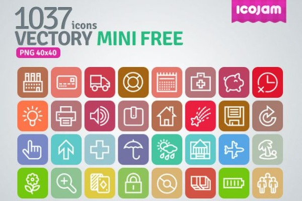 Vectory Mini Free iconos gratis