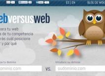 WebversusWeb comparar paginas posicionamiento SEO