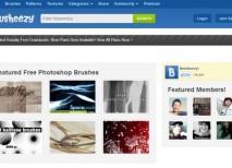Brusheezy recursos pinceles Photoshop gratis