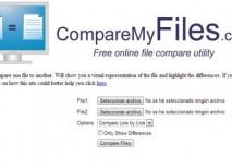 CompareMyFiles comparar archivos texto