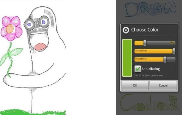 Drawer dibujar Android