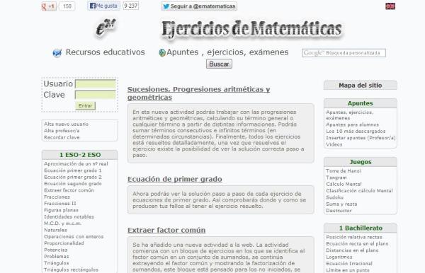 Ematematicas ejercicios apuntes matematicas