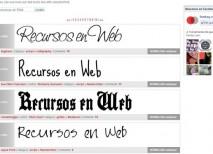 Fontsy tipografias fuentes texto