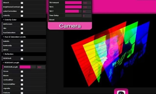 HDBlooth fotos webcam efectos