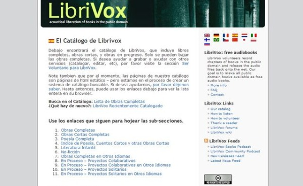 LibriVox audiolibros gratis