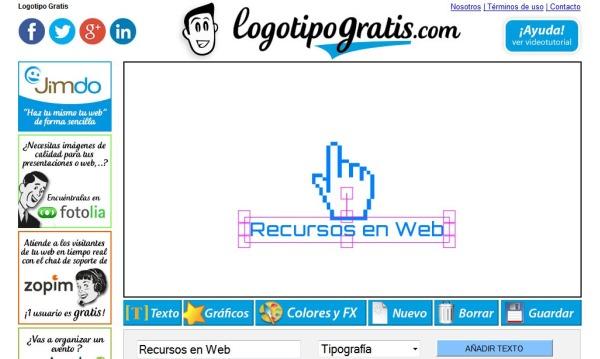 logotipogratis crea sencillos logos en apenas unos pasos
