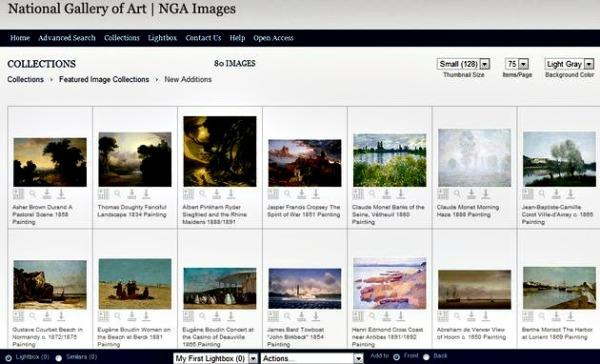 NGA images banco imagenes gratuitas arte