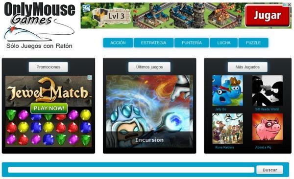 OnlyMouseGames juegos raton