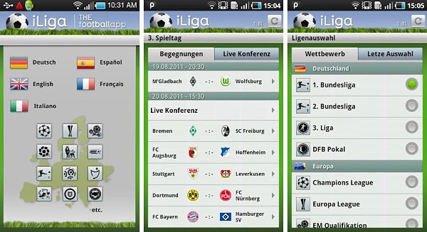 The Football App futbol resultados