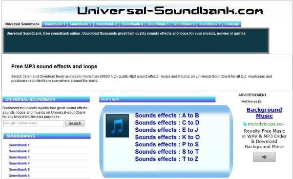 sonidos efectos descargar gratis