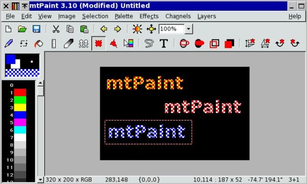 mtPaint alternativa Paint