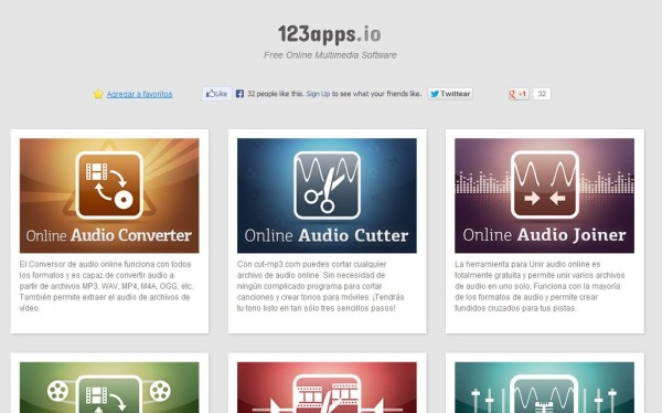 123apps editar video audio