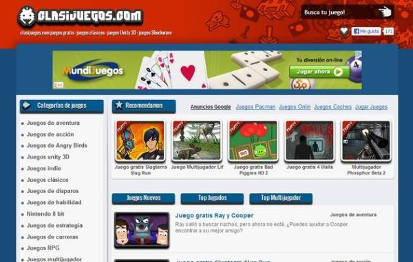 Clasijuegos juegos gratis