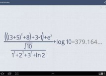 MyScript Calculator app matematicas android