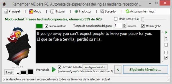 Remember ME aprender ingles