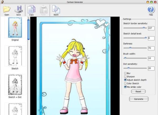 Cartoon Generator fotos dibujos