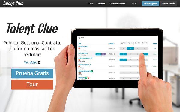 Talent Clue software reclutamiento