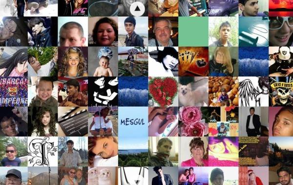 The Faces of Facebook caras usuarios